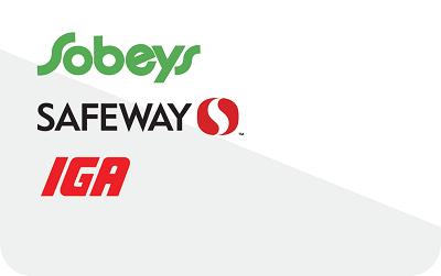 Safeway, Sobeys & IGA - Prepaid Card