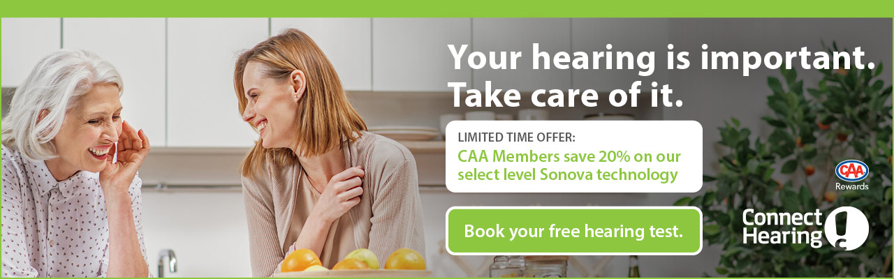 Save up to 20% on select level Sonova technology plus be entered to win a pair of hearing aids.