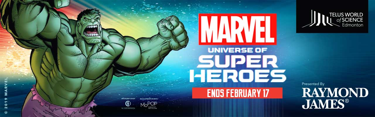 Limited Time Offer: SAVE 10% on regular rates to MARVEL: UNIVERSE OF SUPER HEROES