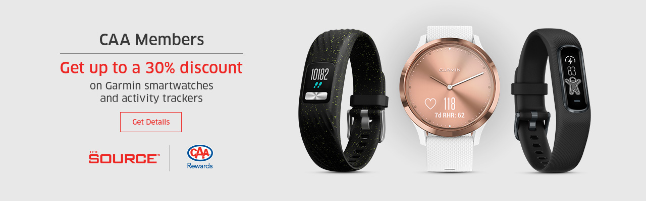Save 30% on Garmin Watches at The Source.