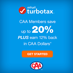CAA Members save up to 20% instantly plus earn 12% back in CAA Dollars